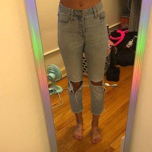 Hollister Classic Vintage Straight Denim Jeans